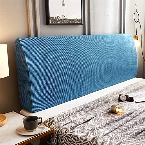 ZXDFG - Funda para cabecero de cama, almohadas de lectura, gruesas, elásticas, para respaldo de cama, a prueba de polvo, funda deslizante, lavable, N, 150 cm