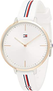 Tommy Hilfiger Women's White Dial White Silicone Watch - 1782156