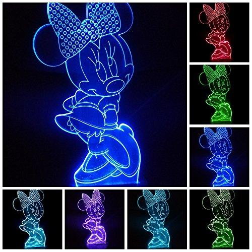 Pokemon Go Pikachu 3D LED Tischlampe Farbwechsel Leselampe Nachtlicht Geschenk