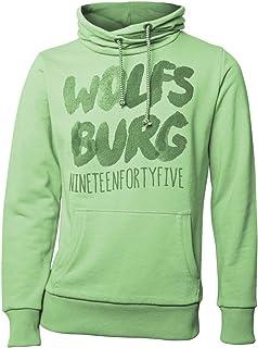 VfL Wolfsburg Kids Hoodie Spielzeit grün Größe 116-152 116