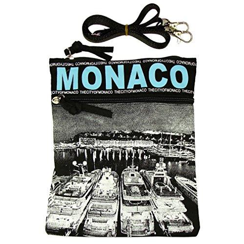 Pochette Passeport 'Monaco Photo' Robin Ruth - Bleu