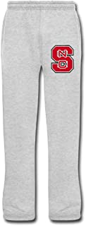 Men's NC State Wolfpack Sweatpants Ash Lounge Pants