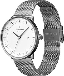 Nordgreen [ノードグリーン] 【Philosopher】レディースのガンメタルの北欧 デザイン腕時計 36mm ガンメタルメッシュストラップ