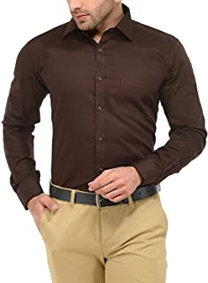 KRYPTAR Men's Full Sleeve Formal Shirts