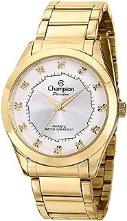 Kit Relógio Feminino Champion Analógico Ch24759w - Dourado