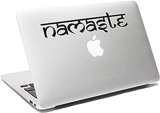 Ericraft Vinilo con diseño Namaste adhesivo decorativo para portátil skin para ordenador portátil vinilo adhesivo de coche...