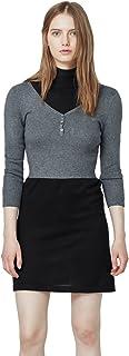 MANGO Dress for Women - BLACK S