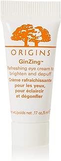 Lot of 3 Origins Ginzing Refreshing Eye Cream to Brighten Depuff 5ml, Total 15ml