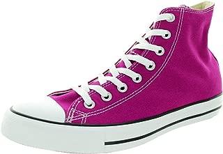 Unisex CT All Star Hi Top Fashion Sneaker Shoe, Pink Sapphire, 4