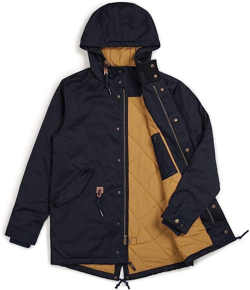 Brixton Monte Parka Jacket Blue