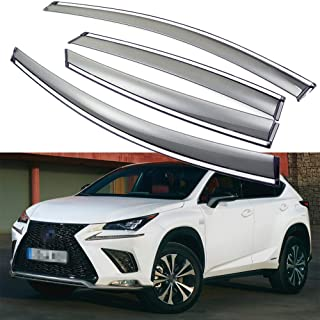 "Light Tint Sunroof Moonroof Wind Visor 980mm 38.5/"" For 15-16 Lexus NX200t NX300h"