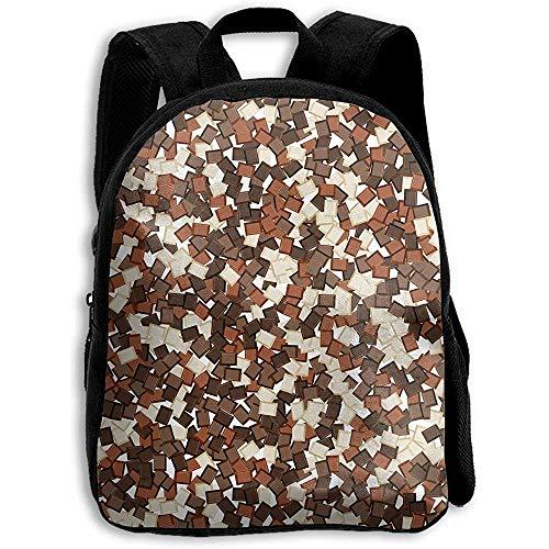 Daypacks,Köstlicher Brown-Creme-Schokoladen-Nachtisch-Rucksack, Studenten-Taschen-Rucksack Für Das Teenager-Schulcamping