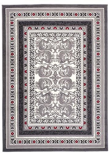 Carpeto Rugs Tapis Salon Gris 300 x 400 cm Classique/Monaco Collection