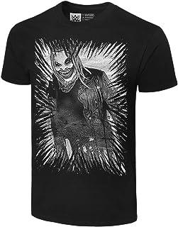 WWE The Fiend Bray Wyatt Black/White Graphic T-Shirt