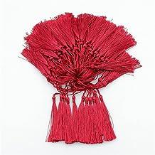 100 Stks 13 cm Kleur Kwasten Fringe Hanger DIY Craft Supplies Sieraden Accessoires Materialen Bladwijzer Kleding Decor Fri...