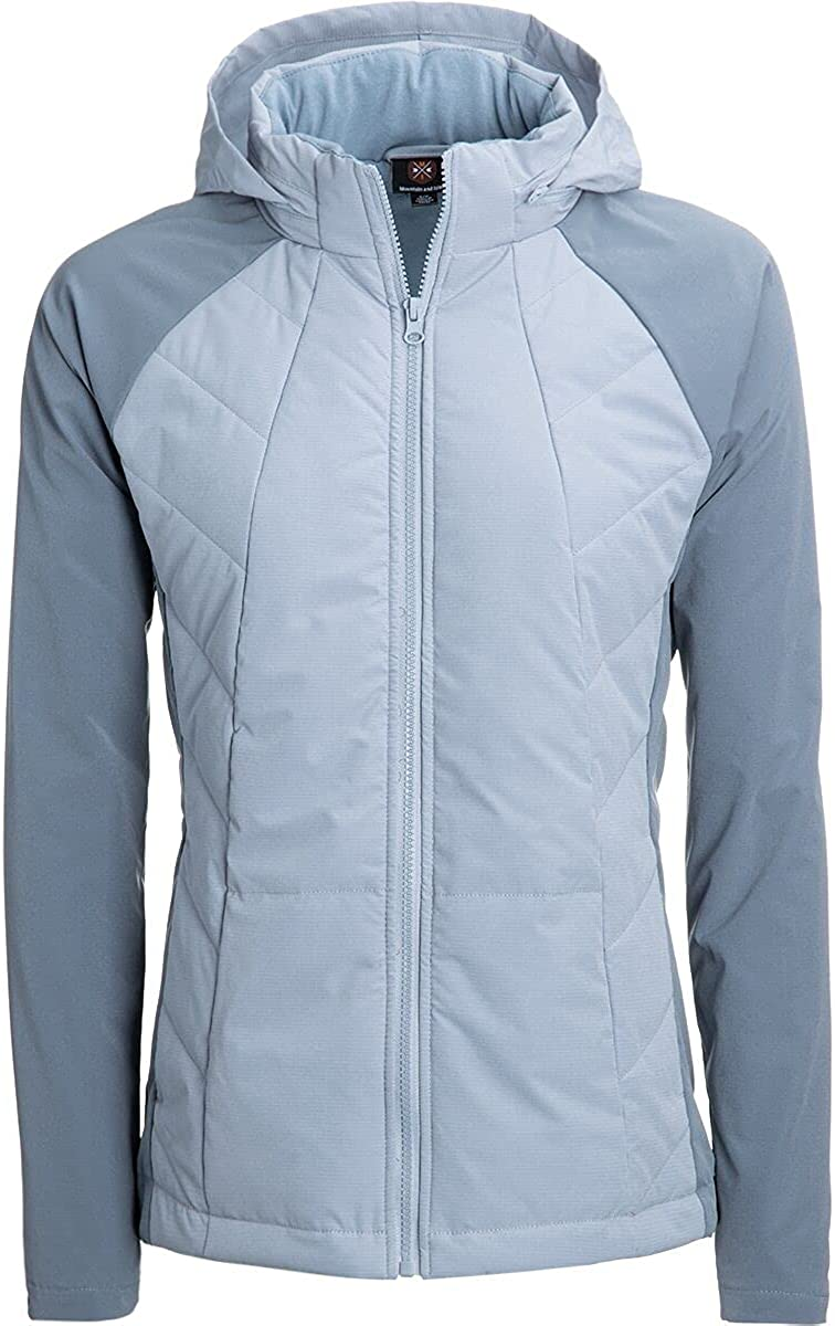 Mountain and Isles Color Block Quilted Jacket - Women's
