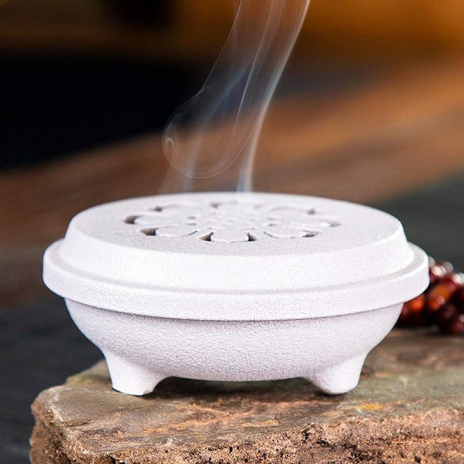 る志す必要ホームデコレーション茶道用コイル型燭台セラミックセンター香りバーナーブラケットD / 11