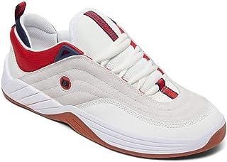 DC Shoes Williams Slim S - Chaussures de Skate en Cuir pour Homme ADYS100573