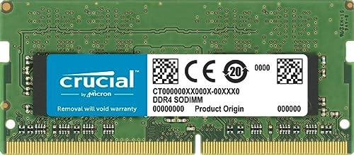 Crucial RAM 32GB DDR4 3200 MHz CL22 Laptop Memory CT32G4SFD832A