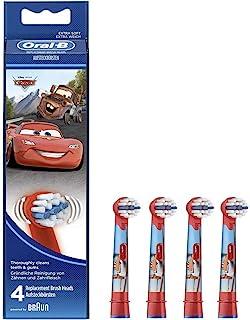 Oral B - Testine di ricambio per spazzolino elettrico per bambini, modello: 68341 Disney Cars, Multicolore (multicolor)
