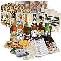 Paquete de 6 especialidades de cerveza de Alemania (las mejores cervezas alemanas)como un juicio a la caja de ingift regalo (selección de cerveza de alta calidad) 6 x 0,33 l