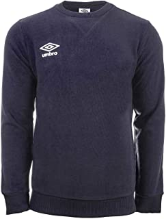 Umbro Fleece Small Logo Sweat Men's Sweatshirt, mens, Sweatshirt, 64874U, blue, M