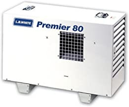 LB White Premier 80 DF Dual Fuel Ductable Tent/Construction Heater, Natural Gas Or Propane 80,000 BTU/HR Output