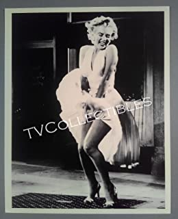 8x10 Photo~ Actress Marilyn Monroe ~The Dress Blowing from Below ~Litho