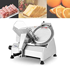 Electric Slicer, Meat Slicer for Business or Home, thickness adjustment from 0 to 17mm,Cutting stroke is 18.5cm, for Meat,...