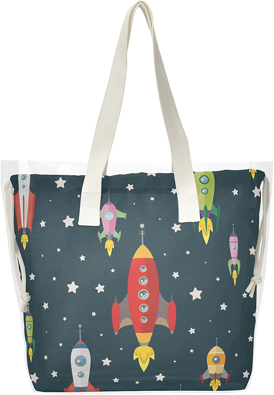 Plane Limited Special Price Popularity {5} Women Clear Tote Bags Bag Handbag Shoulder Beach H Top