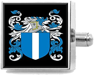 Select Gifts Mcbrayer Scotland Family Crest Surname Coat Of Arms Tie Clip Engraved In Pouch