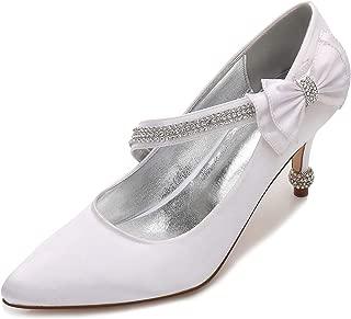 Amazon.es: Blanco - Zapatos de tacón / Zapatos para mujer: Zapatos ...