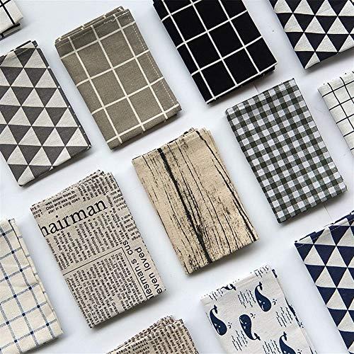 DaTun648 Einfache Tischset for Esstisch Geschirr Pad Mat Geometrische Tischset Tischsets Pads Bowl Coaster Dekoration (Color : 14)