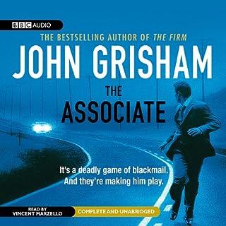 The Associate audiobook cover art