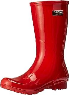 Roma Boots Women`s Emma Short Rain Boot, red, 9 M US