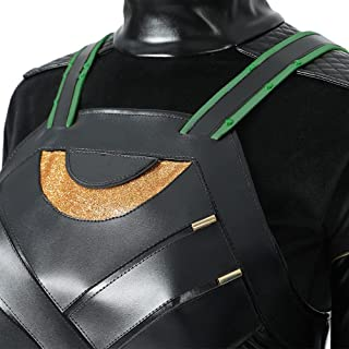 Lady Loki Sylvie Cosplay Costume Battle Suit Accessories...