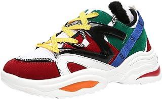 Yowablo Herren Schuhe Atmungsaktive Sportschuhe Mode Schnürung Student Laufschuhe
