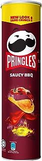 Pringles Saucy BBQ Potato Crisps Chips 147g
