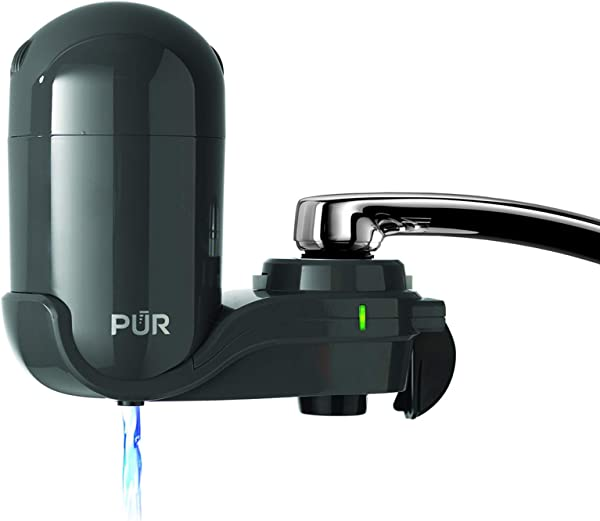 PUR FM2500V Classic Faucet Mount Filter Small Grey