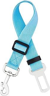 iBuddy Dog Car Seat Belt, with Heavy Duty Nylon Adjustable Dog Safety Belt for Car of Small/Medium/Large Dog