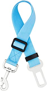iBuddy Dog Car Seat Belt, with Heavy Duty Nylon Adjustable Dog Safety Belt for Car of Small/Medium/Large Dog