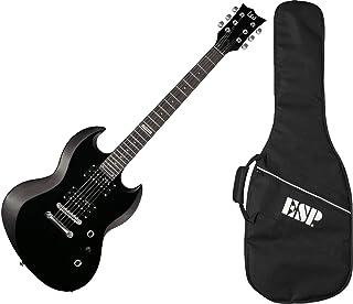 Best ESP LTD Viper-10 Electric Guitar with Gig Bag, Black Review