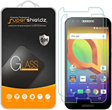 (2 Pack) Supershieldz for Alcatel Zip Tempered Glass Screen Protector, Anti Scratch, Bubble Free