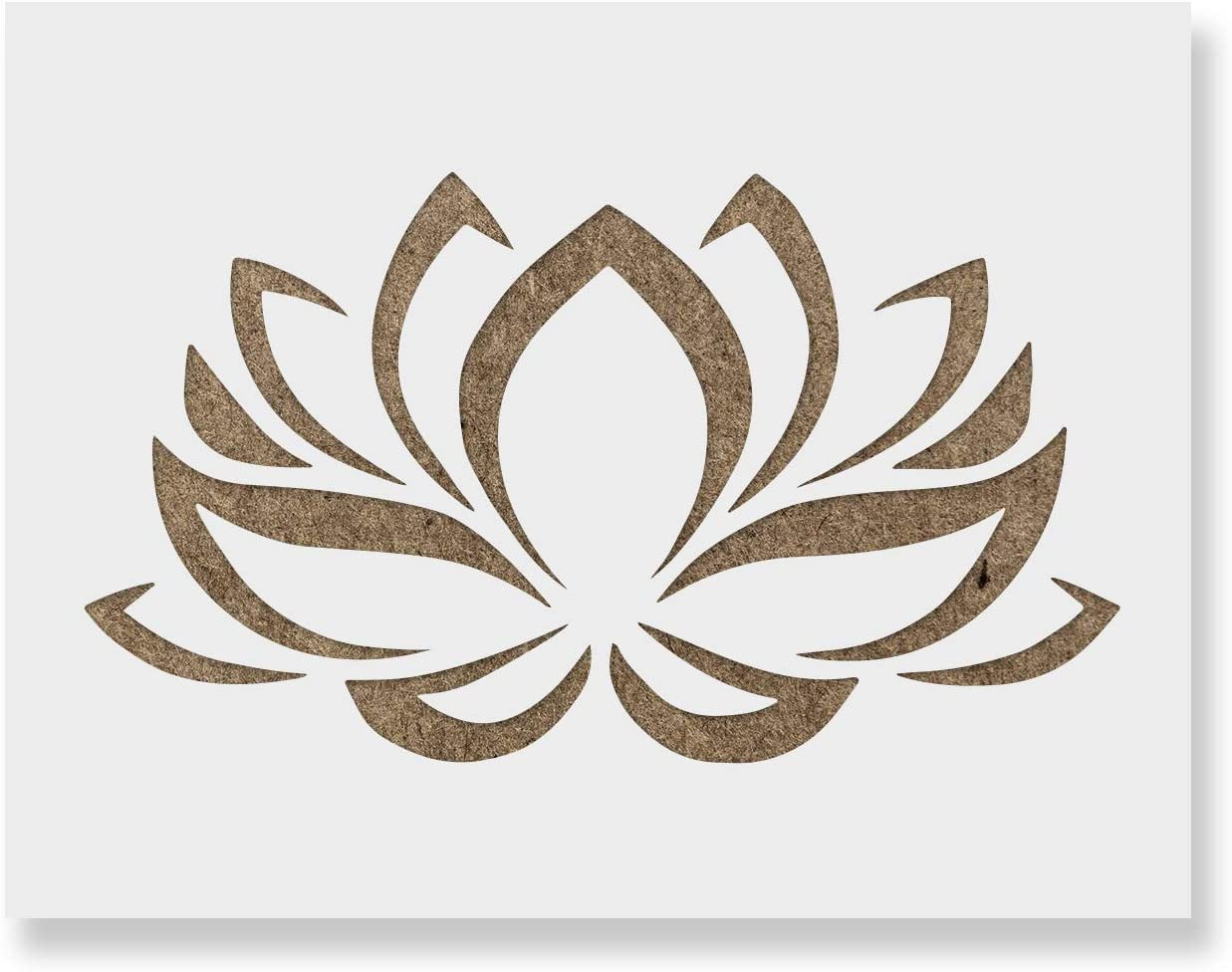Lotus Flower Stencil - Popularity Reusable for Stencils D Create Outstanding Painting