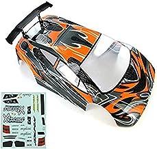 Redcat Racing Road Car Body (1/10 Scale), Orange/Black