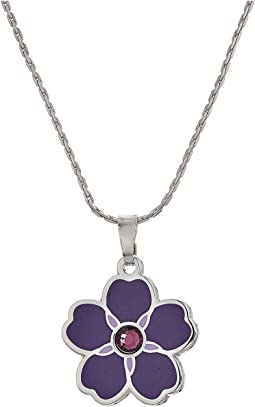 "Charity By Design Forget Me Not 32"" Expandable Necklace"