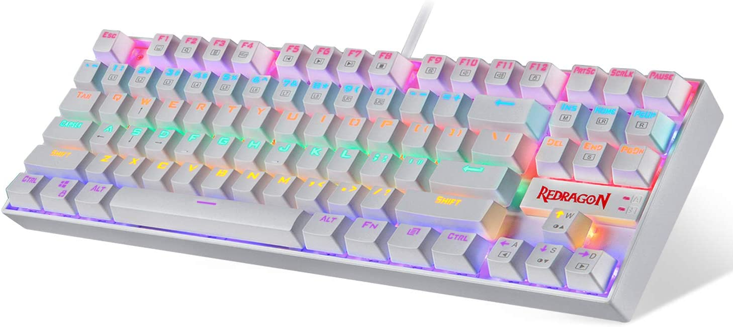 Redragon K552 Mechanical Gaming Keyboard Max 70% OFFicial OFF LED RGB Rainbow Backlit
