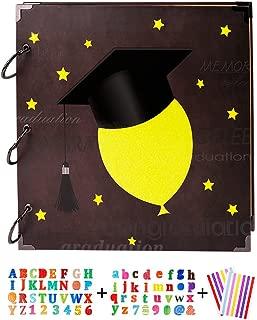 SICOHOME Scrapbook,Graduation Scrapbook Ablum,10.5
