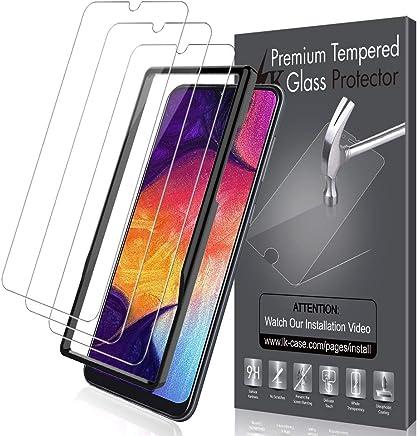 LK [3 Pack Pellicola Protettiva per Samsung Galaxy A50, Protezione Schermo Vetro Temperato Screen Protector [Garanzia di Sostituzione a Vita]