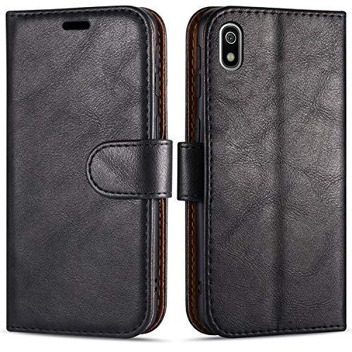 Hülle Collection Hochwertige Leder hülle für Xiaomi Redmi 7A Hülle (5,45